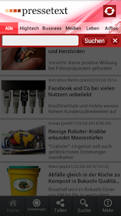 pressetext mobile- screenshot thumbnail