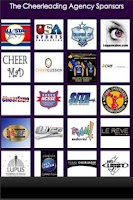 Screenshot of The Cheerleading Agency
