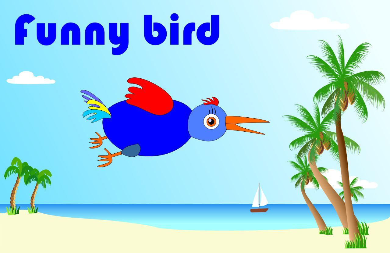 Funny Bird. At the beach- screenshot