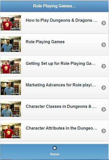 Role Playing Games [Videos]
