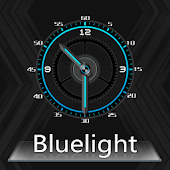 BlueLight Clock Widget