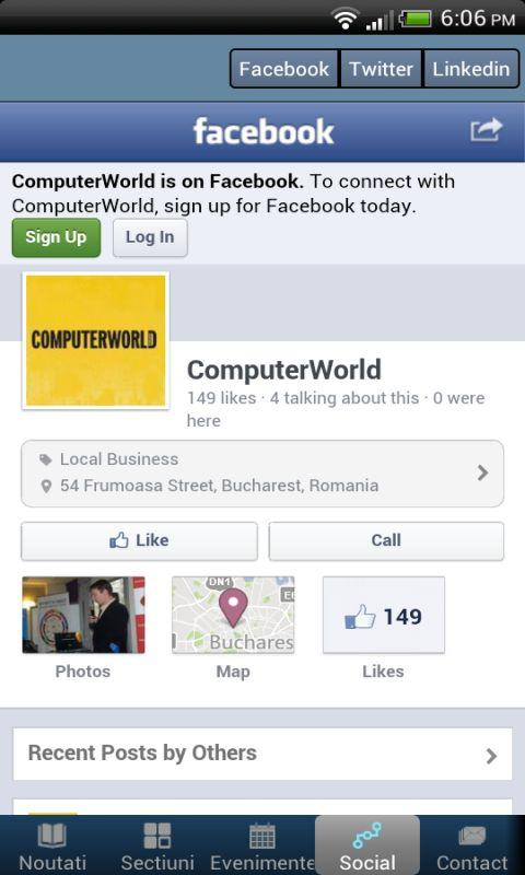 Computer World Romania- screenshot