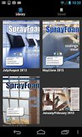Screenshot of SprayFoamMag