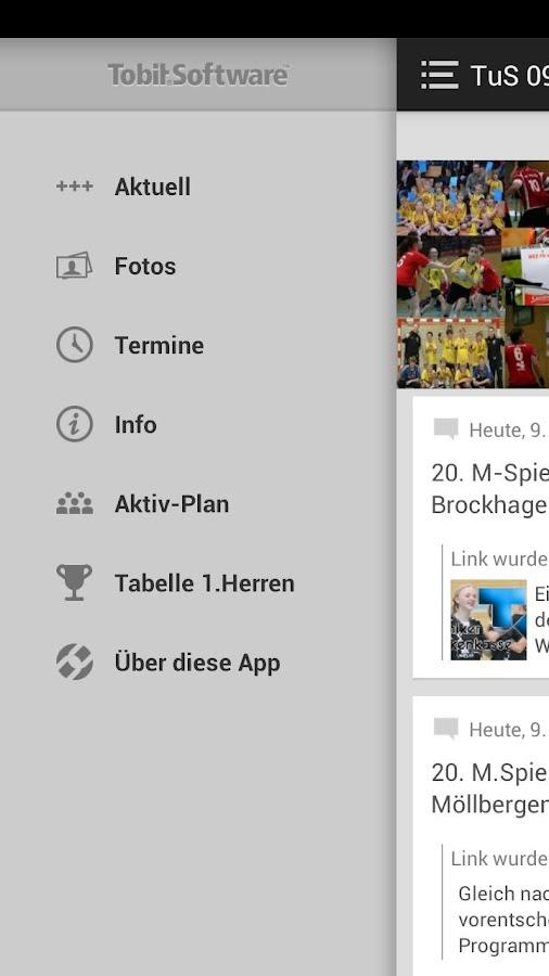 TuS 09 Möllbergen - screenshot
