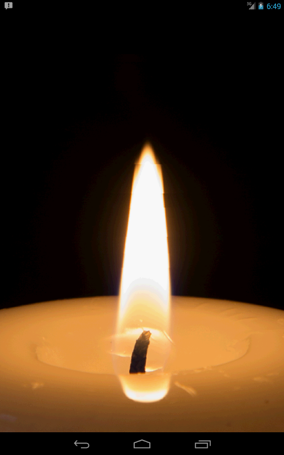 Virtual Candle HD - screenshot