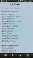 Screenshot of Movie Collection & Inventory