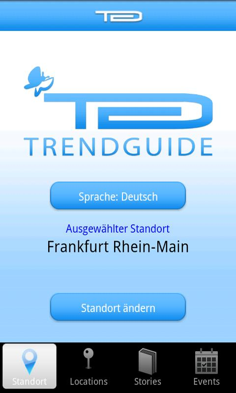 Trendguide- screenshot