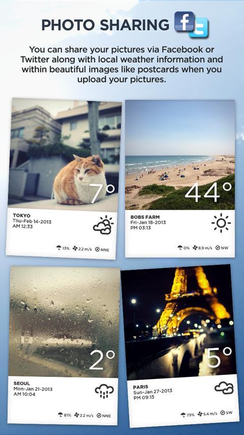 Take Weather (Photo & Sharing) - screenshot
