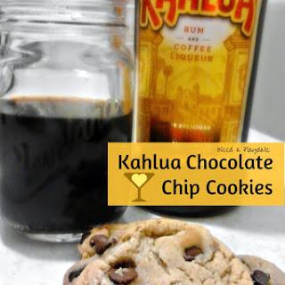 Kahlua Chocolate Chip Cookies.