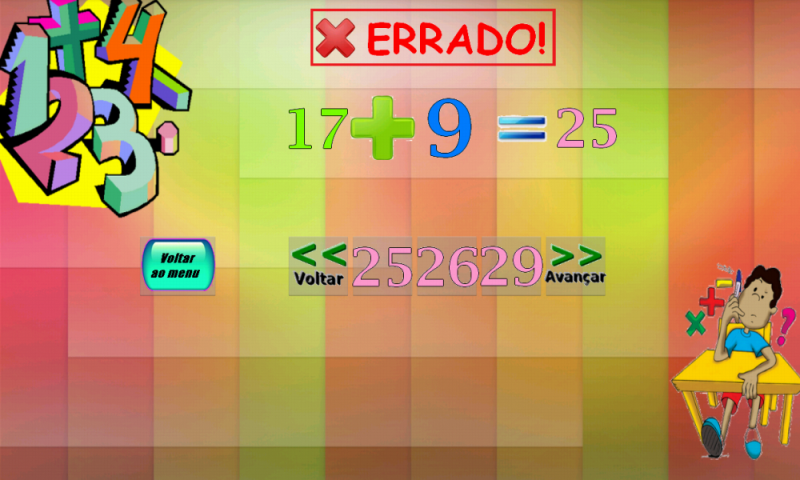 Matemática Divertida - screenshot