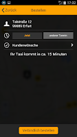 Screenshot of Taxi Erfurt