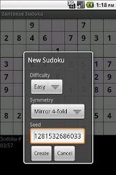 Zentense Sudoku