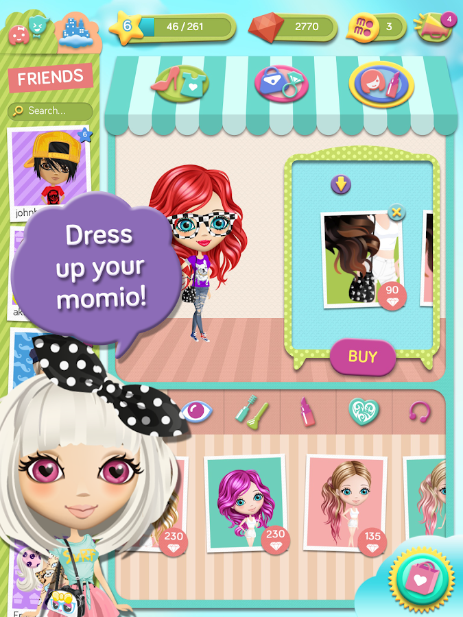 Momio - screenshot