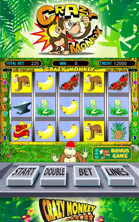 Crazy monkey slot- screenshot