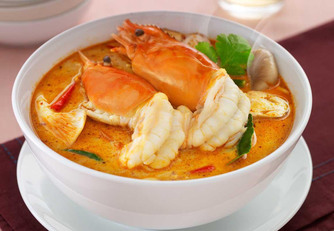 Thai Food Recipe TOM YUM Kung With Shrimp AR ROI DEE Good Taste | eBay
