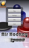 Screenshot of Air Hockey Speed
