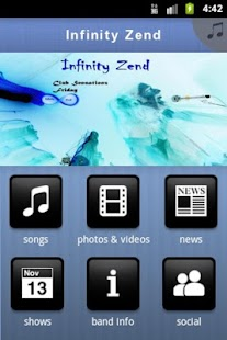 Infinity Zend - screenshot thumbnail