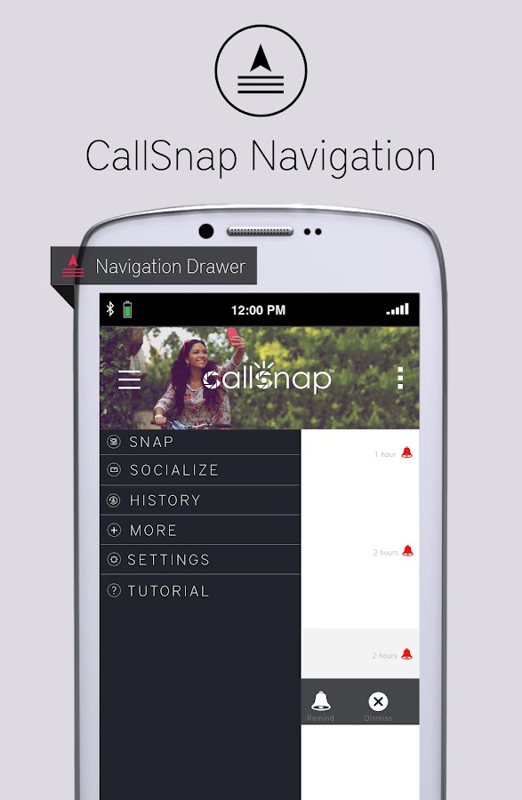 CallSnap - Snap Your Moment- screenshot