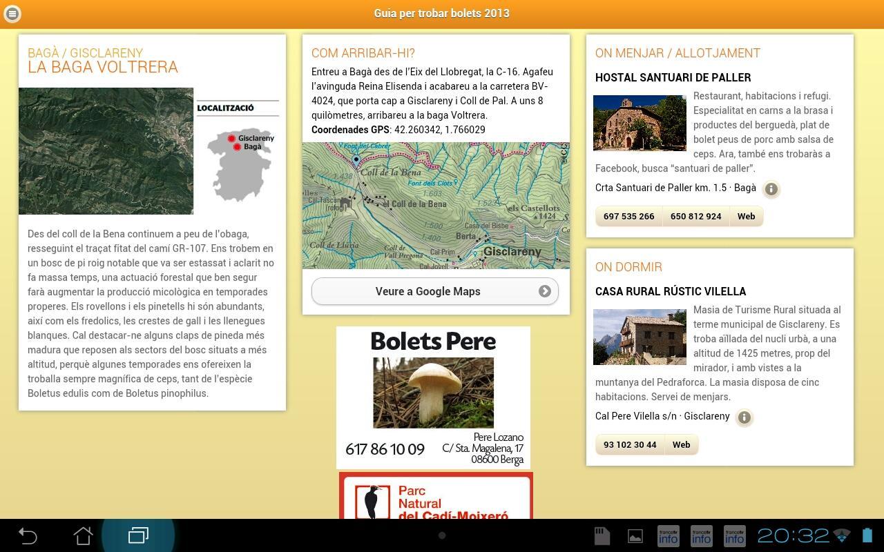 Guia per trobar bolets (D)- screenshot