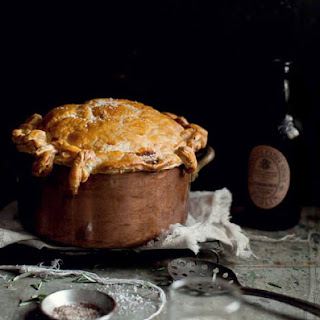 Beef and Guinness Pie.