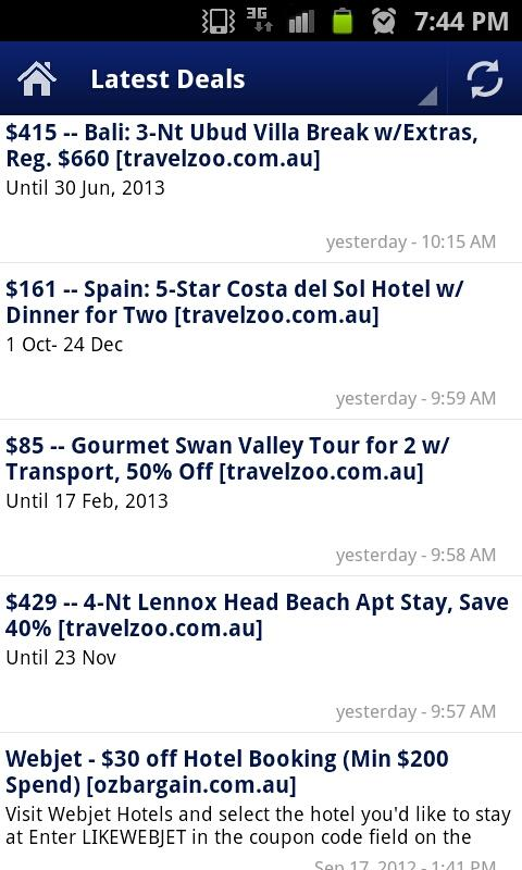 Australian Travel - screenshot