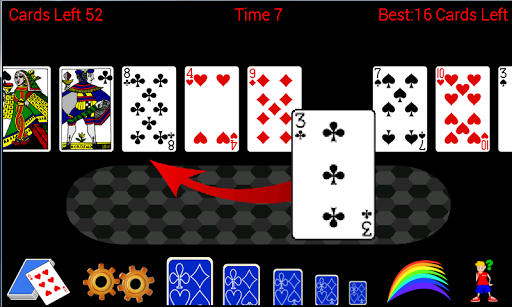 Accordion Solitaire Patience