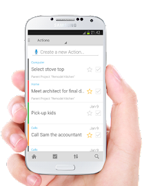 IQTELL Email app and GTD® Screenshot 4