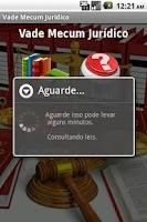 Screenshot of Vade Mecum Juridico