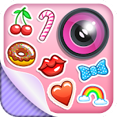 Cute Stickers Photo Editor