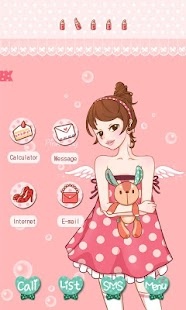 CUKI Theme A Pink Girl