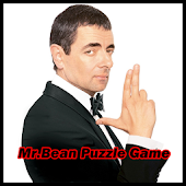 Mr Bean Puzzle Game