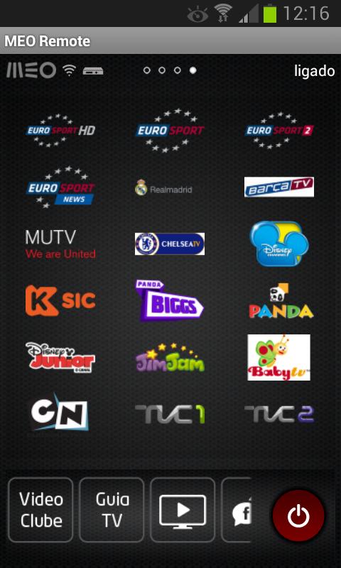 MEO Remote- screenshot
