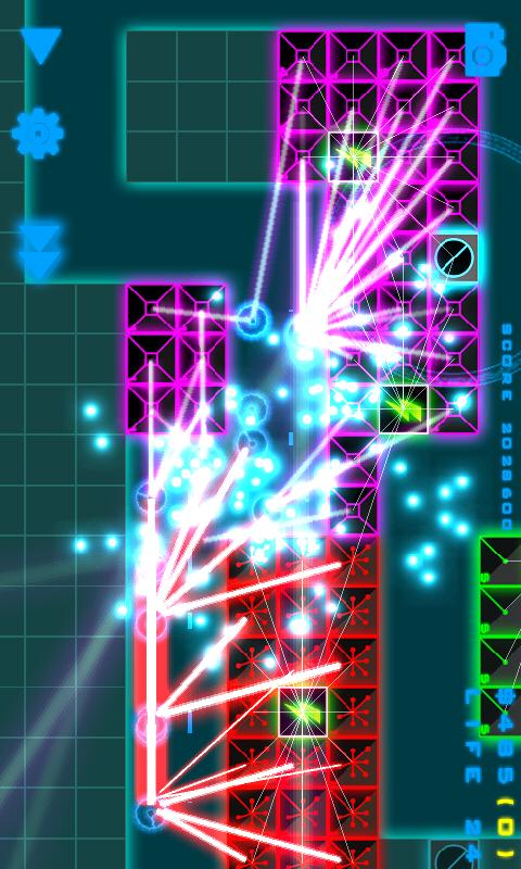 Neon Defense FREE - screenshot