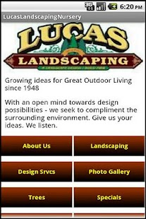 Lucas Landscaping & Nursery- screenshot thumbnail