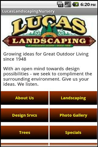 Lucas Landscaping & Nursery- screenshot
