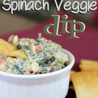 Spinach Veggie Dip.