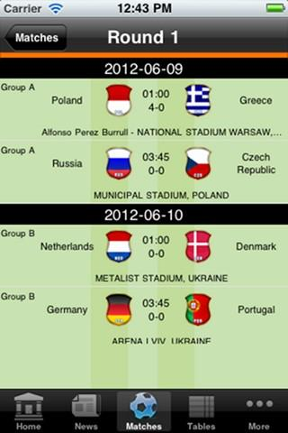UMOBILE EURO Football Craze - screenshot
