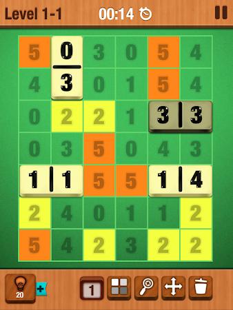 Dominosa - Puzzle Domino Game 1.0.2 screenshot 101660