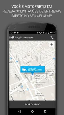 Loggi Mensageiros - screenshot