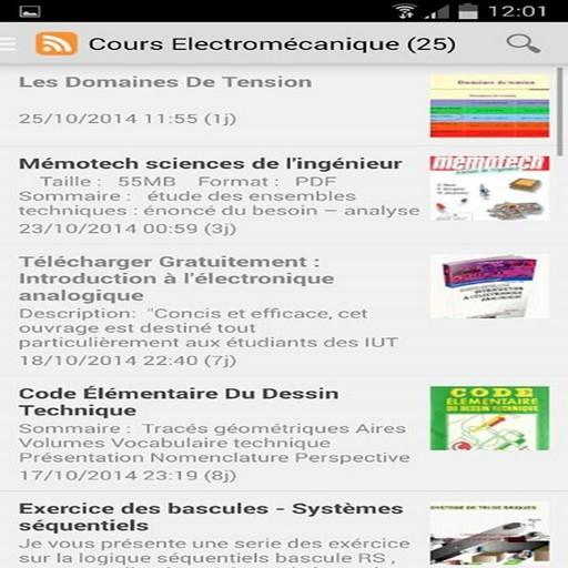 Cours Électromécanique