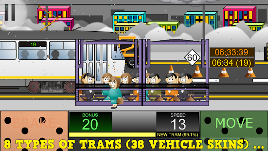 Stormy Weather For Public Libraries And >> Tram Simulator 2D Premium - Apps on Google Play