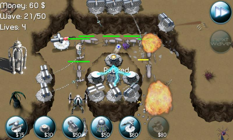 Nexus Defense: Desert Storm - screenshot