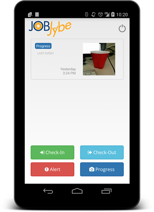 JobJybe mobile app- screenshot