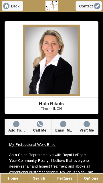 Nola Nikols - Royal Lepage - screenshot