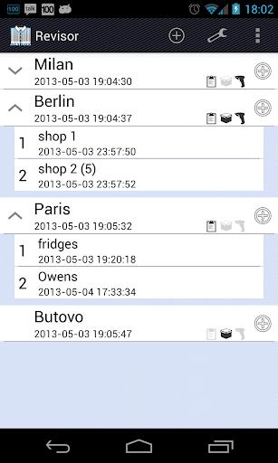 Data collect terminal Revisor