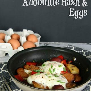 Andouille Hash & Eggs