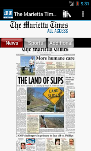 The Marietta Times All Access - screenshot thumbnail