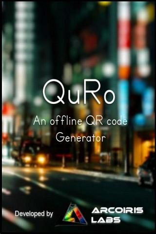 QuRo-QR Code Generator- screenshot
