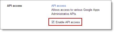 Domain Settings, Enable provisioning API
