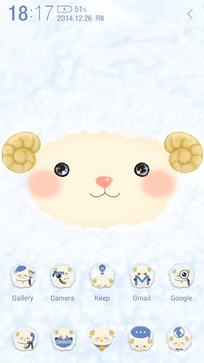 Happy Sheep Atom Theme